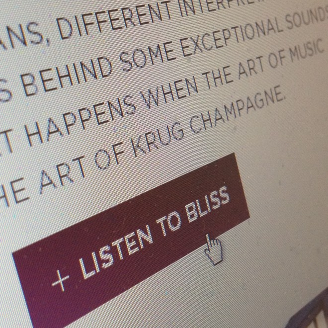 KRUG bliss